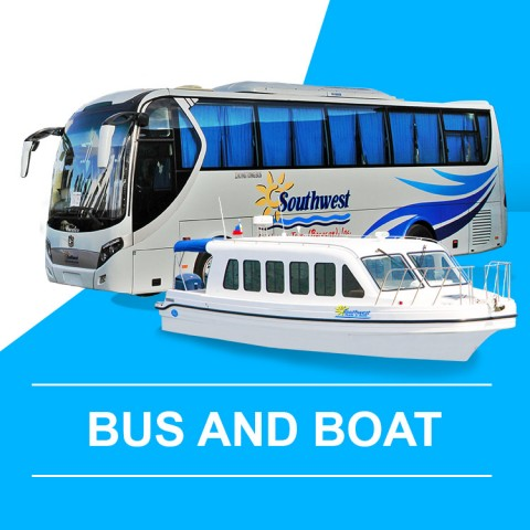 Bus and Boat (Arrival) - Caticlan