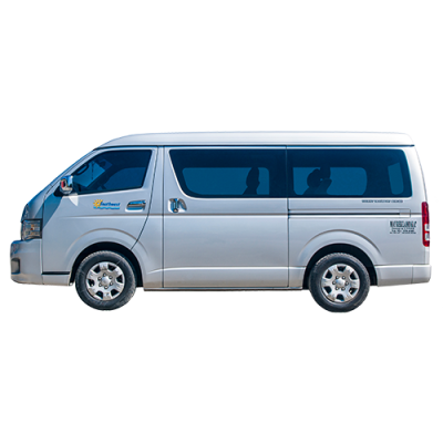 Airport Transfer to Carles Port (Van 10 seaters)